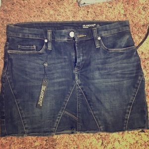 Brand new never worn: BLANK NYC jean skirt